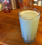 Jan's Pomegranate Pond Scum Smoothie