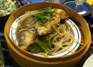 Karl's Chinese Whole Steamed Fish II