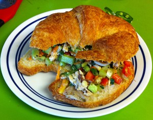 Karl's French Chicken Salad Croisandwich