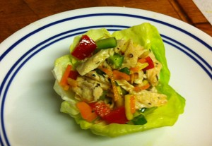 Karl's French Chicken Salad Wraps