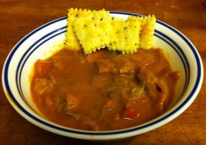 Karl's Hungarian Porkolt (pork stew)
