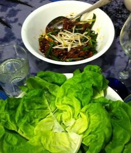 Karl's Mongolian Lamb Lettuce Wraps