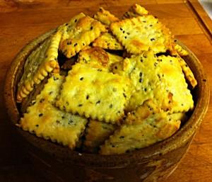 Karl's Sesame Crackers