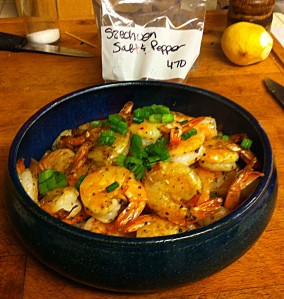 Karl's Szechuan Salt & Pepper Shrimp