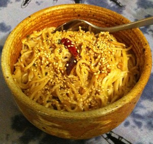 Karl's Cold Sichuan Noodles, original recipe