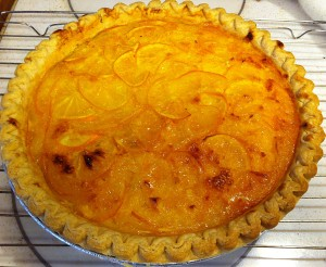 Jan's Shaker Meyer Lemon Pie