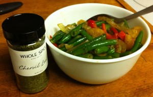 Karl's Chervil Green Beans with Mandarin Orange