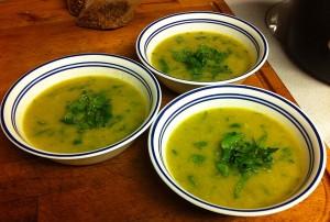Karl's Leek Soup ala Pica Pica