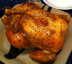 Karl's Szechuan Salt and Pepper Roast Chicken Au Jus
