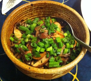 Karl's Tarragon Mixed Mushrooms with Meyer Lemon