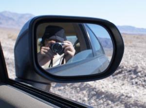 Eilene selfie, Death Valley