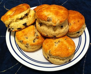 Karl's British Scones with Currents