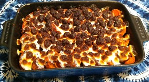 Karl's Asian Sweet Potato Casserole with Marshmallow Topping