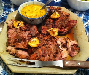 Karl's Barbequed Kefir Lamb