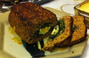 Karl's Game of Thrones Stuffed Meatloaf