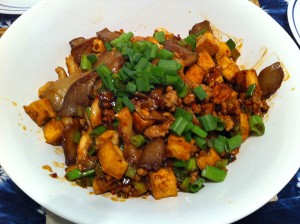 Karl's Tofu and Oyster Mushrooms