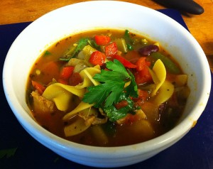 Karl's Chicken Minestrone