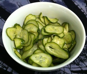 Karl's Sunomono (Japanese Cucumber Pickles)