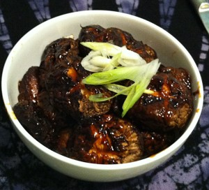Karl's Teriyaki Shitaki Mushrooms