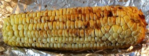 Karl's Barbecued Corn with Garlic Butter
