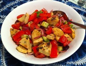 Karl's Greek Artichoke Salad