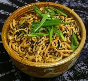 Karl's Pan Fried Sesame Noodles