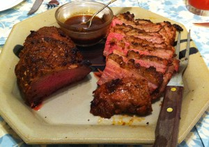 Karl's Barbecued Moroccan Tri-tip