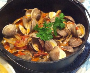 Karl's Portuguese Steamed Clams