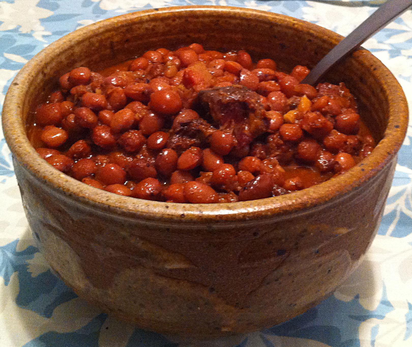 Karl's Santa Maria-Style Beans II | Jabberwocky Stew