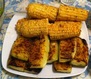Karl's Chili Barbecued Squash
