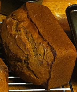 Claudia's Pumpkin Bread
