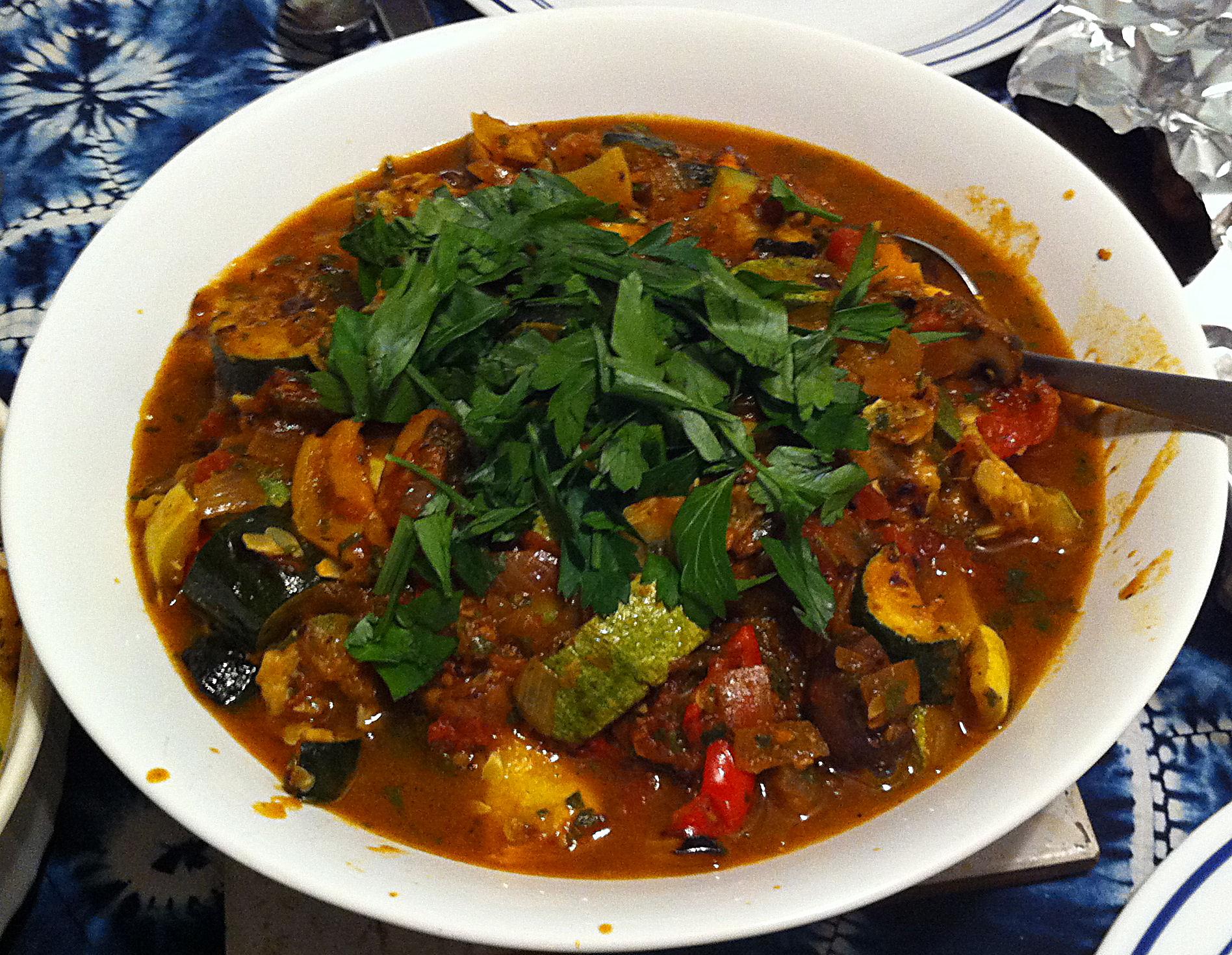Karl's Ciambotta (Italian Vegetable Stew)