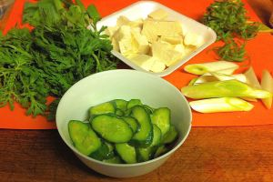 Karl's Japanese Cucumbers Pickles with Lemon and Ginger