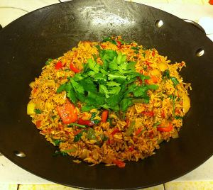 Karl's Mexican Rice with Beef