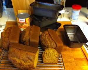 Karl's Pumpkin Bread