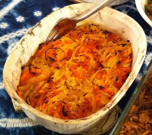 Karl's Sweet Potato and Apple Casserole