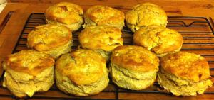 Karl's Scones with Dried Apples