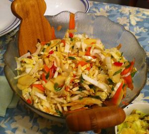 Karl's Asian Apple Cabbage Salad II