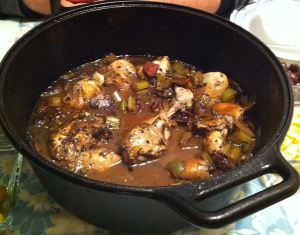 Karl's Chicken Cacciatore (Hunter's Chicken)