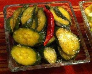 Karl's Miso Pickled Cucumbers, Misozuke Tsukemono