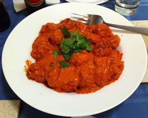 Karl's Chicken Tandoori Meatballs