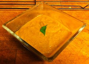 Karl's Maafe II (West African Sweet Potato and Peanut Soup)