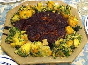 Karl's Pot Roast and Smashed Potatoes