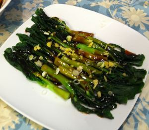 Karl's Chinese Broccoli with Oyster Sauce
