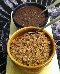 Karl's Cuban Moros y Cristianos (Cuban Black Beans and Rice)