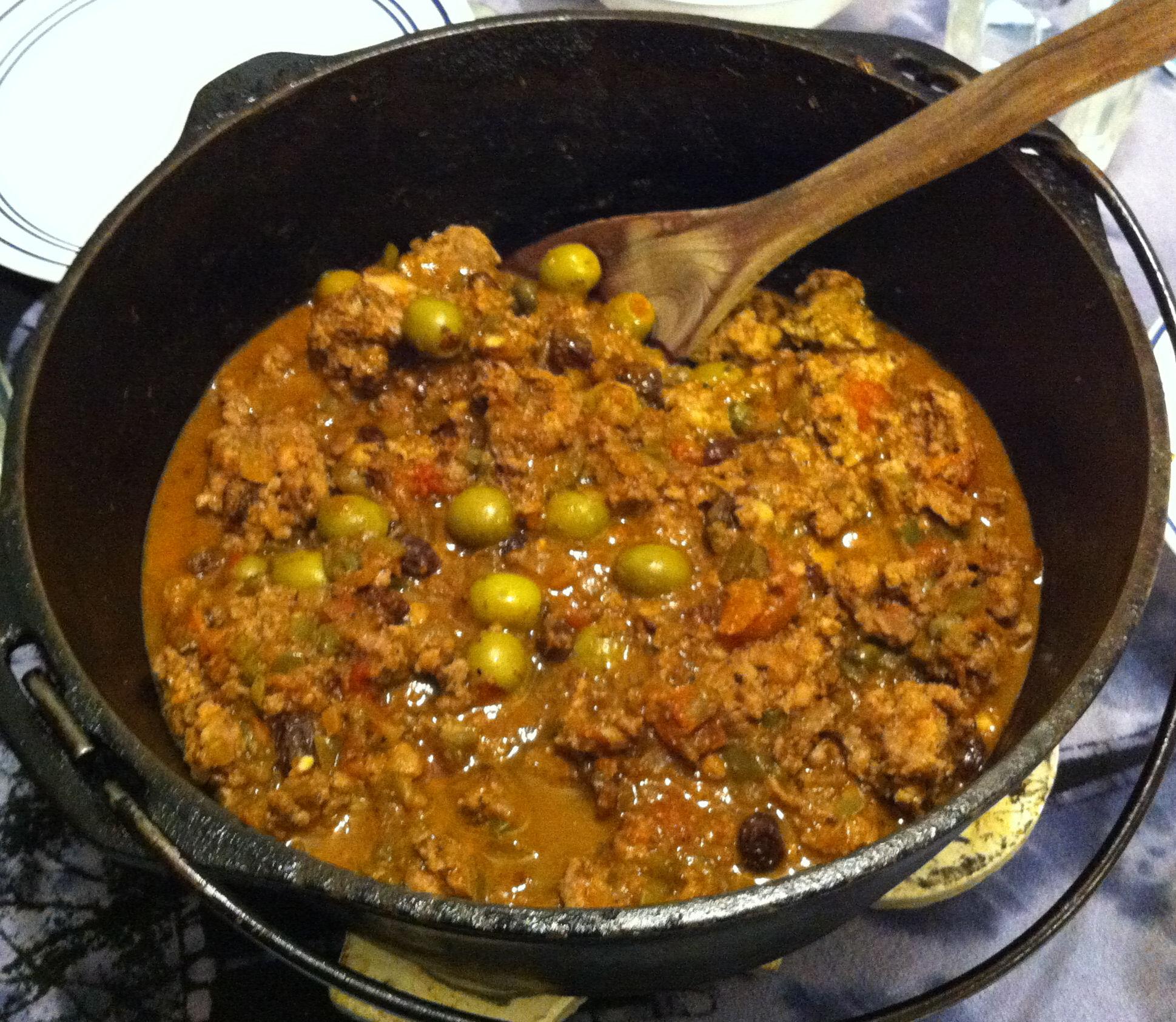 Cuban Chili Jabberwocky Stew