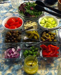 Karl's Greek Salad Bar