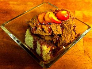 Jan's Drunken Cherry Chocolate Mousse Cake