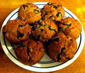 Karl's Blueberry Bran Muffins