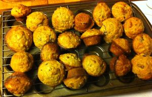 Karl's Cranberry Banana Bran Mini-Muffins